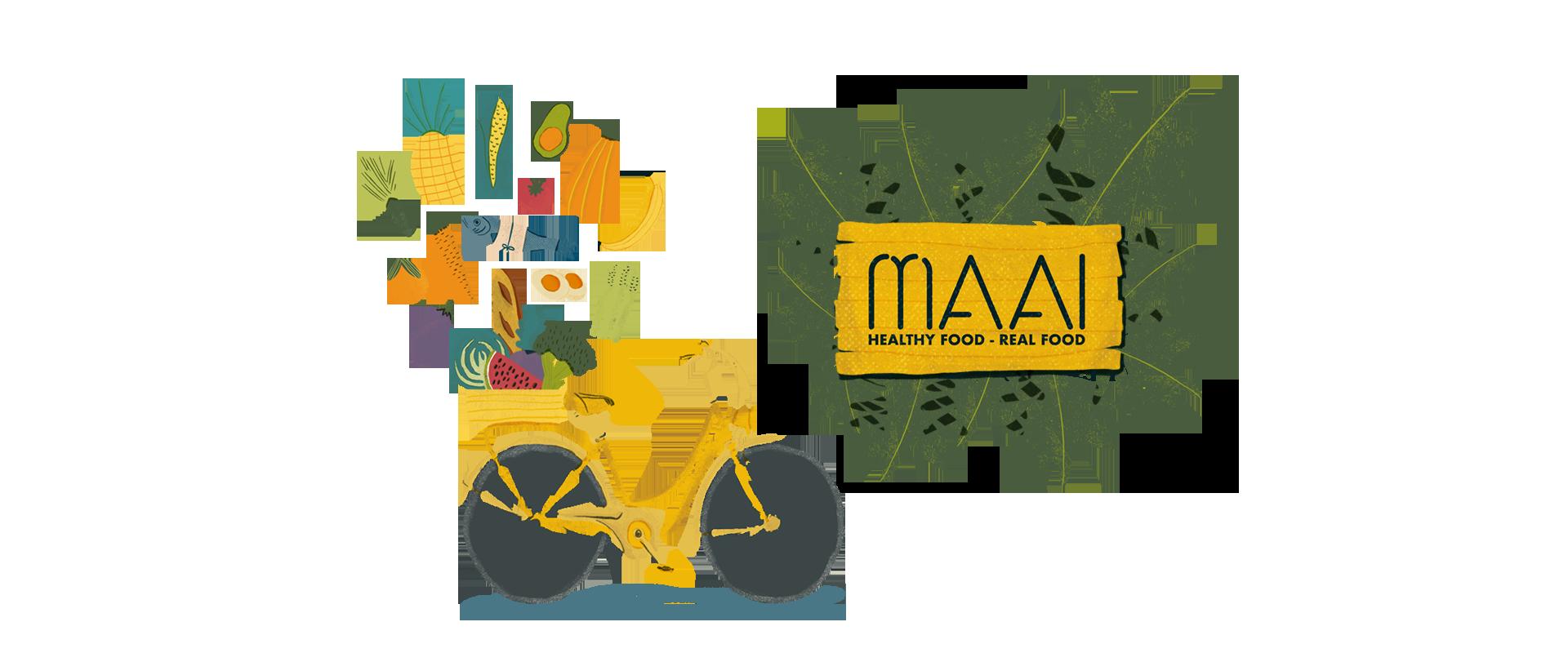 Bici amarilla MAAI